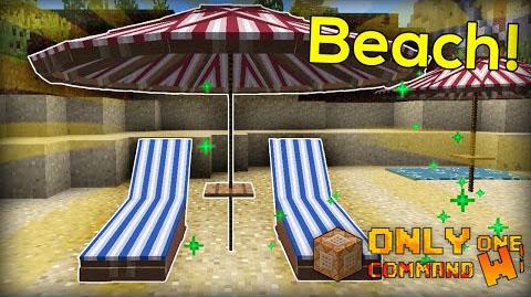 Beach Items Command Block