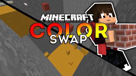 Color Swap Parkour Map