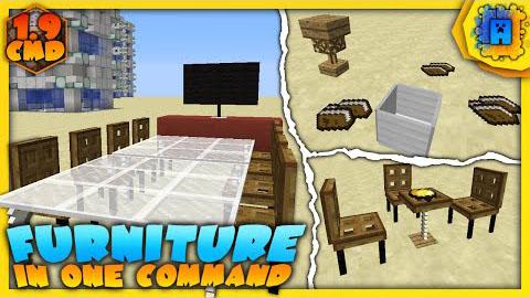 Furniture Command Block by IJAMinecraft