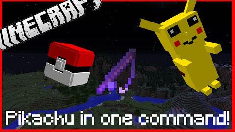Pikachu Boss Fight Command Block