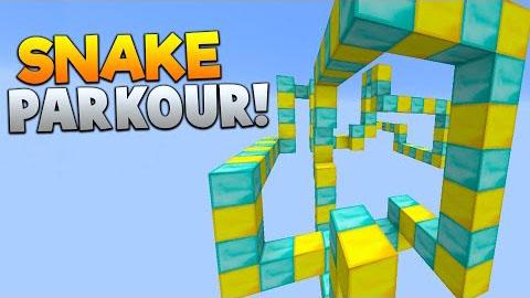 Snake Parkour Map